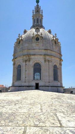 Basílica da Estrela: Dach