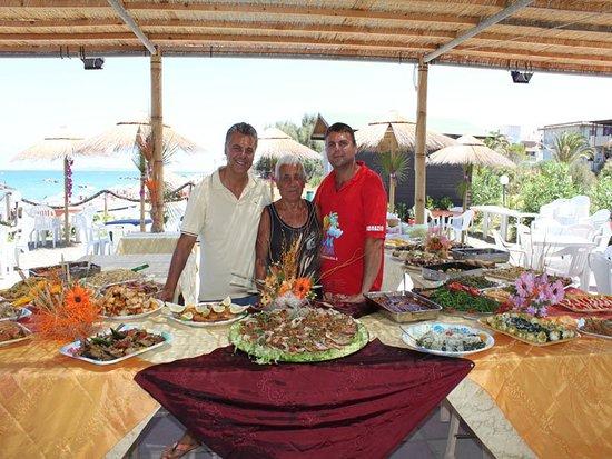 Tonnarella, Italy: Gran buffet