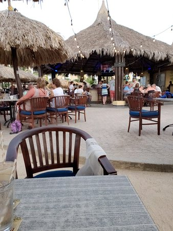 Bilde fra Water's Edge Restaurant & Bar Aruba