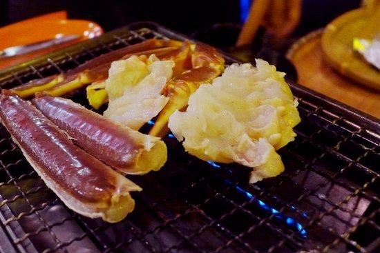Akita Hamayaki: Food