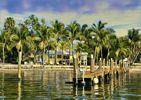 Atlantic Bay Resort: View from the water