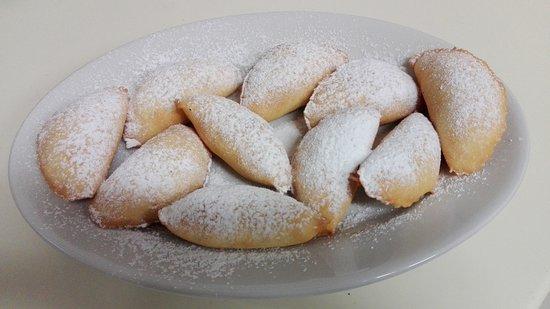 Province of Bari, Italie: Panzerottini alla nutella