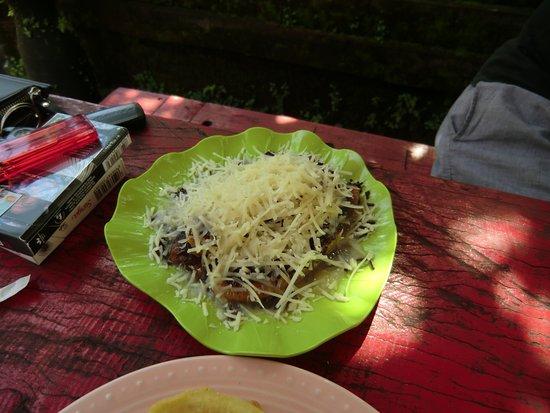 Jiwangga Resto: gebackene Bananen