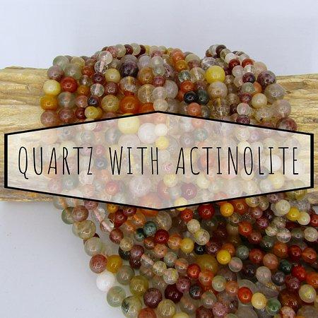 Shakti: Quartz With Actinolite
