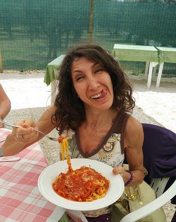 Ristorante Il Buongustaio: Conditissime tagliatelle con sughetto d'oca