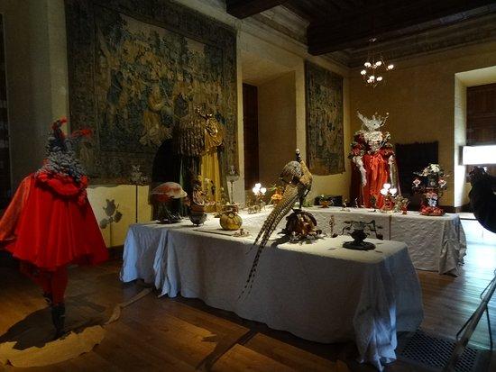 Salle à manger avec automates - Photo de Château d\'Azay-le-Rideau ...