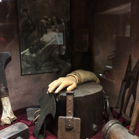 Bilde fra Museo Della Tortura
