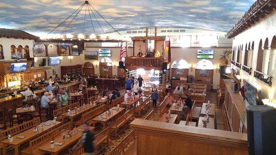 Inside The Hafbrauhaus Restaurant In St Pete Florida