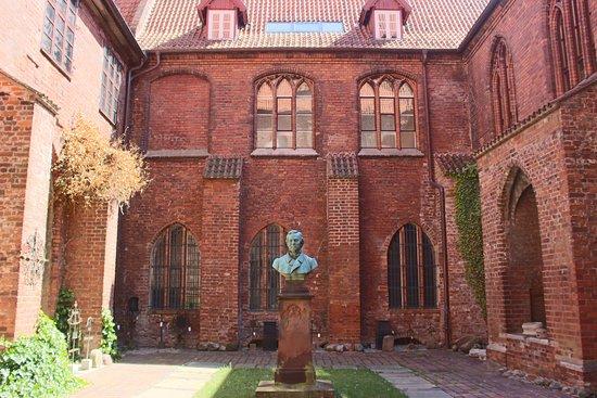 Stralsund Museum: cortile