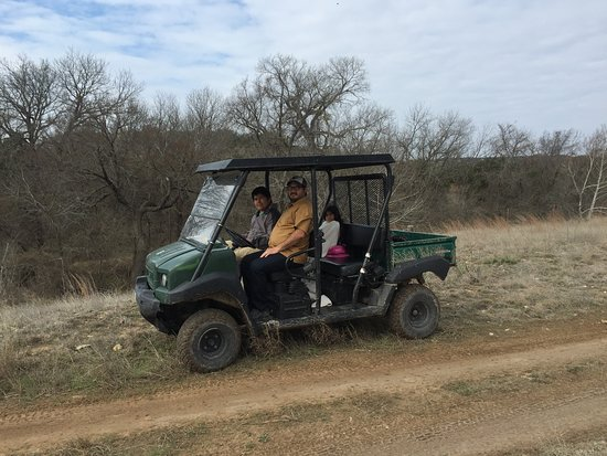 Rough Creek Lodge: We rented this buggy to explore the grounds and area.