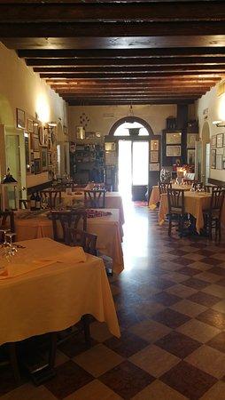 Antica Trattoria Al Bosco: sala interna