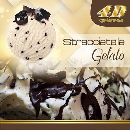 4D Gelateria: Stracciatella Gelato
