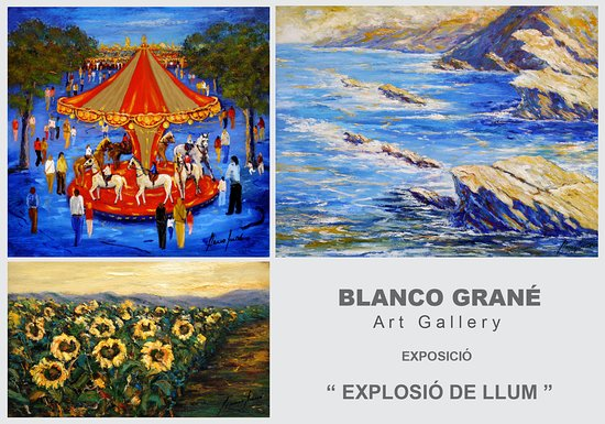 ‪Art Gallery Blanco Grane - Tossa de Mar‬