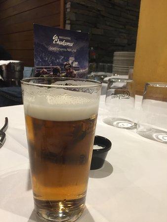 Marisqueria La Chalana: cerveza