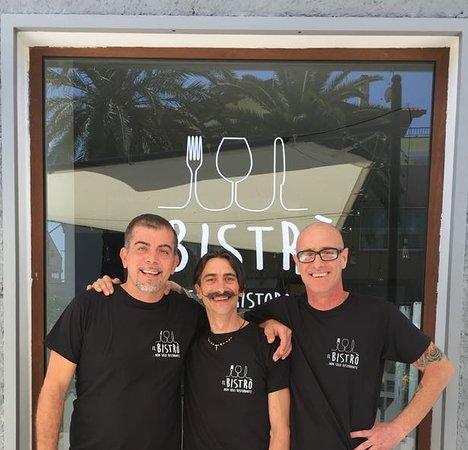 Il Bistro... Non Solo Ristorante: Da Sinistra: Gianluca, Roberto e Guido