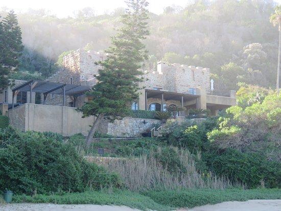 Noetzie, Sydafrika: Houses on the beach