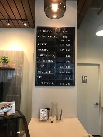 Bellden Cafe: Menu