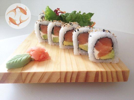 Orimaki Sushi: Alaska Roll      1/2 rollo...$3.99   1 rollo....$7.50