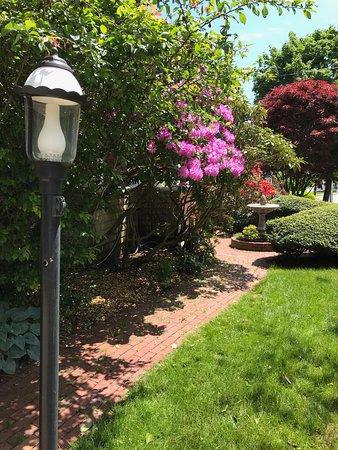 Palmer House Inn gardens in bloom