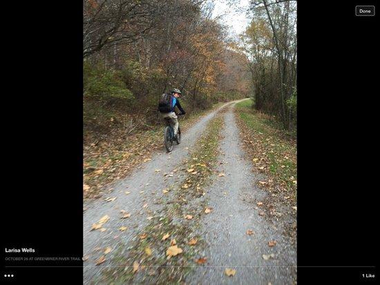 Slatyfork, Virginia Occidental: Greenbrier river trail