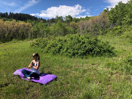 Eventful Yoga: Easy to find zen on this summer day