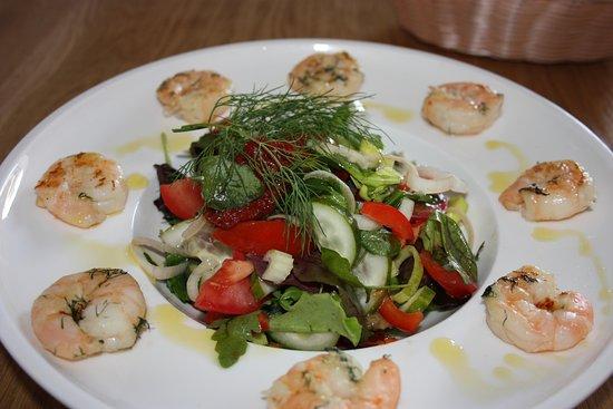 Cafe Micio: Italian salad.