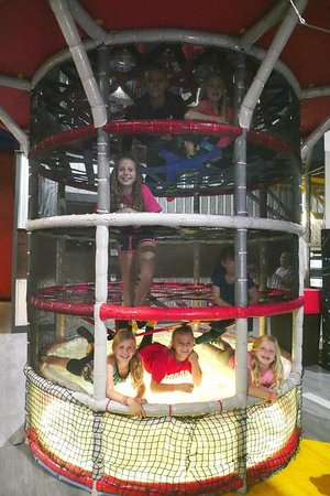 Uptown Jungle Fun Park: Race your friends crawling up our spider tower. - Peoria