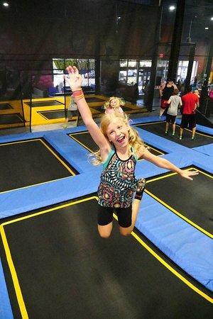 Uptown Jungle Fun Park: Come bounce around on huge trampoline park. - Peoria