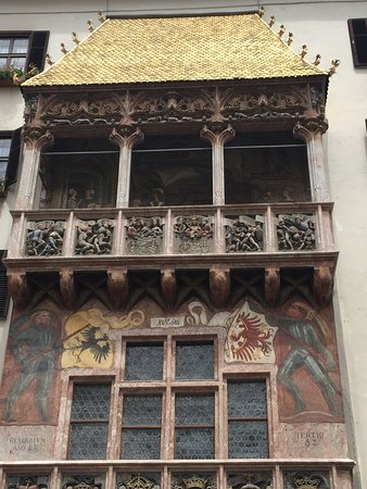 The Golden Roof (Goldenes Dachl)照片