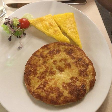 Restaurant Alle Griglie: Frico !