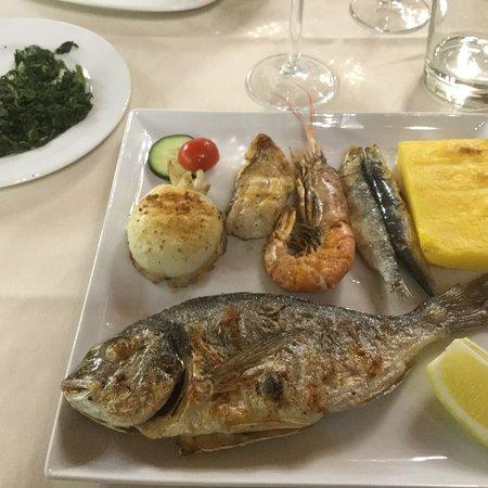 Restaurant Alle Griglie: Grigliata di pesce !