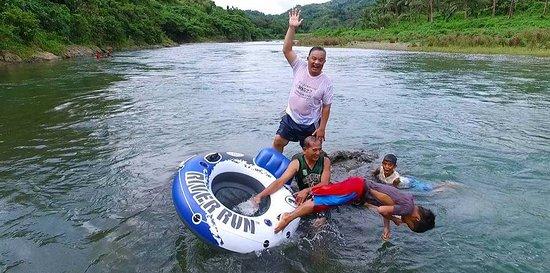 It's more fun in San Miguel River Park Catanduanes