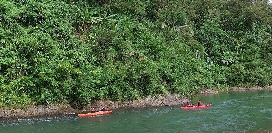 Kayaking adventure in San Miguel River Park Catanduanes