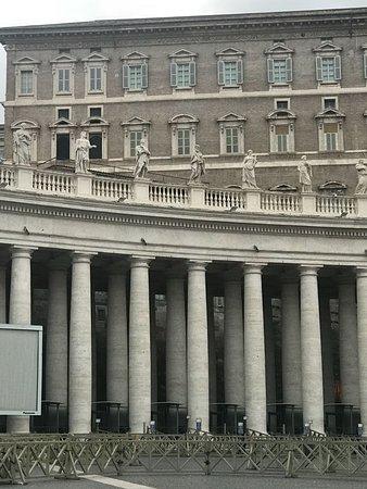 Vatican City: Janela onde aparece o Papa