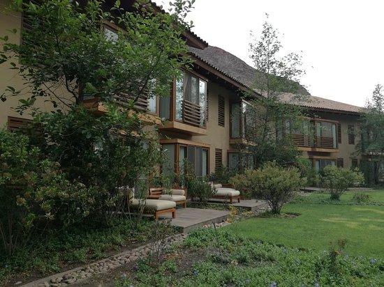 Tambo del Inka, a Luxury Collection Resort & Spa: Terrazas de las habitaciones Dleuxe