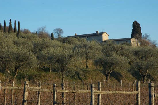 Bardolino, Italy: Our house from from the street