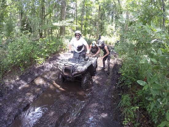 Carolinabackwoods Atv Tours Deeper Than It Looks Only Got Stuck Once