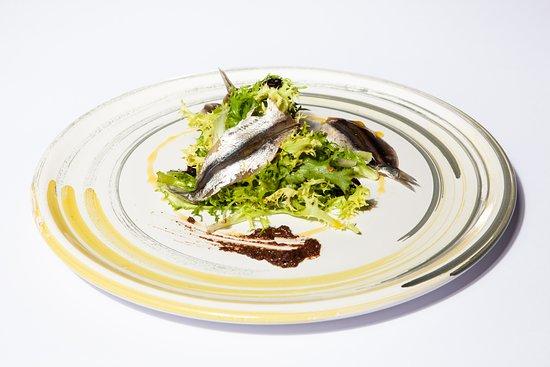 Peter's Beach: Alici salate (DINNER)