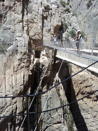 Caminito del Rey Entrance Ticket: De hangbrug over de kloof