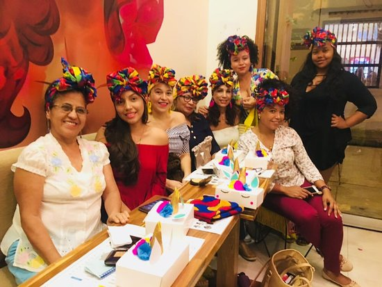 Mingui cafe: taller de turbantes