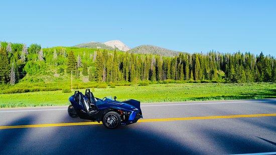 Colorado Sled Rentals: CSR Slingshot Rentals 20 mile road