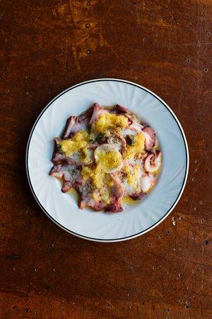 larrys: octopus and salt lemon
