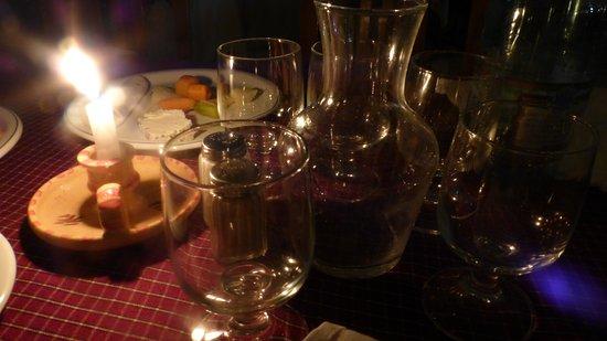 Hotel Djerba Castille: Однажды был ужин при свечах