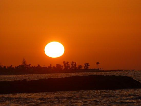 Hotel Djerba Castille: рассвет