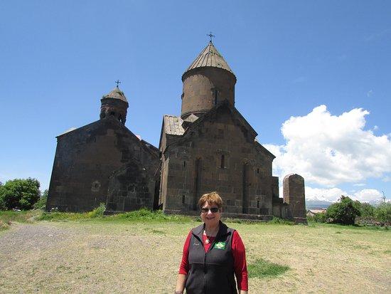 Artashavan, Armenia: Saghmosavank Monastery