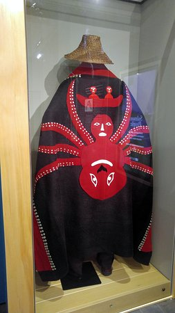 Sealaska Heritage - Walter Soboleff Building: traditional garment