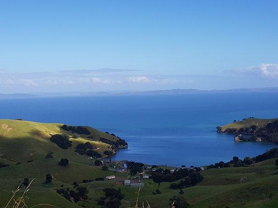 Coromandel Peninsula, Nova Zelândia: The view on the journey.
