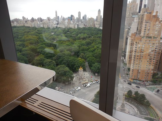 """Mandarin Oriental, New York: """"Room with a view"""" of Columbus Circle"""