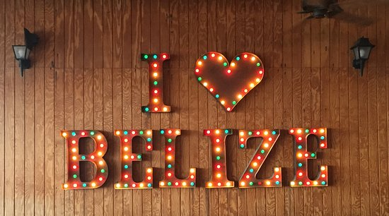 Blue Water Grill: My family really does LOVE Belize!!!