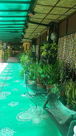 LC's Place Restaurant: in front of the resto